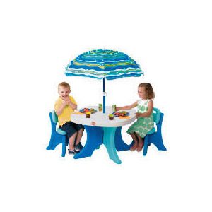 Photo of Play and Shade Patio Set Toy