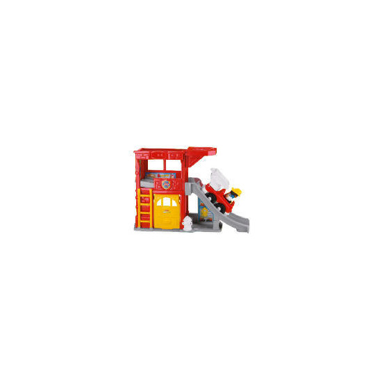 Fisher-Price World of Little People Ramps Fire Station