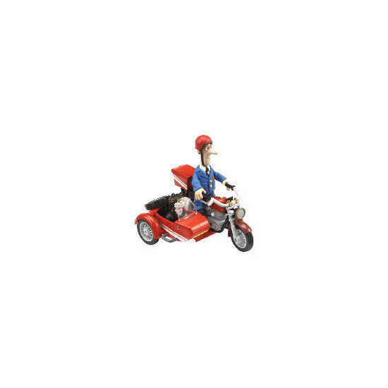 Postman Pat Push Along Motor Bike