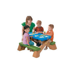 Photo of STEP2 Fun Fold Junior Picnic Table Toy