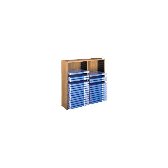 Hama 40 DVD Wooden Rack