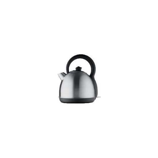 Tesco TK39 Brushed Stainless Steel Traditional style kettle