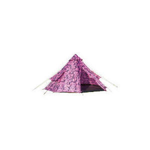 Photo of Pink Floral Teepee Tent Tent