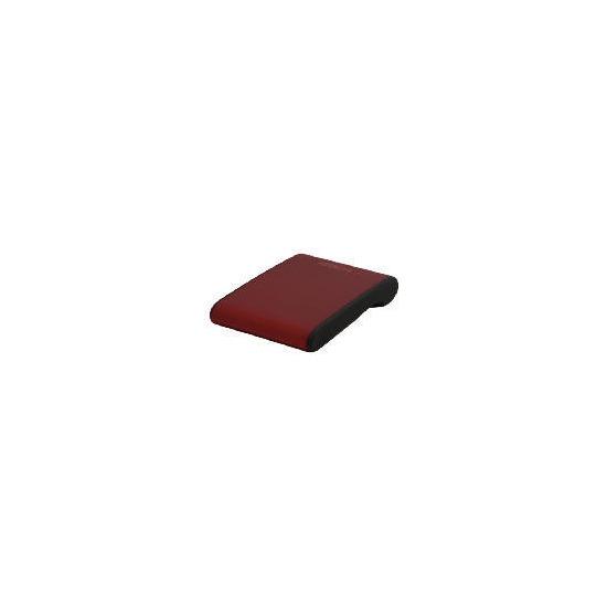 Hitachi 250 GB Red Portable Hard Drive