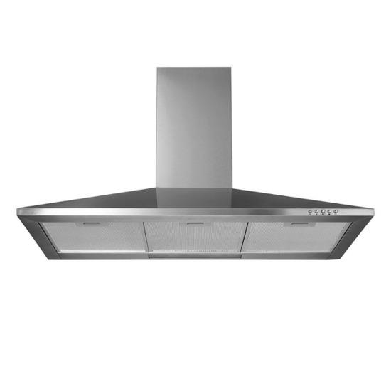 Logik L90CHDX13 Chimney Cooker Hood - Stainless Steel