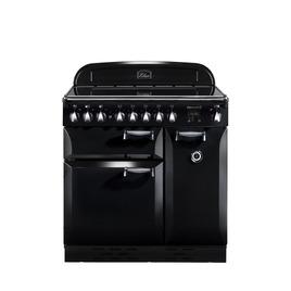 Rangemaster Elan 90 Electric Ceramic Range Cooker - Black & Chrome Reviews