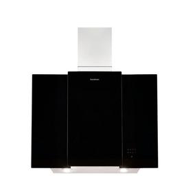 Sandstrom S80GHB13 Chimney Cooker Hood - Stainless Steel & Black Glass Reviews