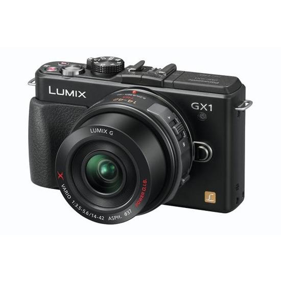 Panasonic Lumix DMC-GX1XEB-K Compact System Camera with 14-42 mm Telephoto Zoom Lens