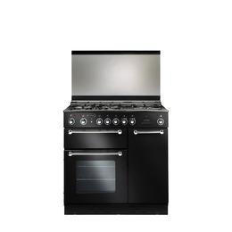 Rangemaster 90 Gas Range Cooker - Black & Chrome Reviews
