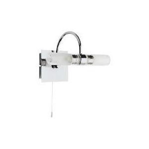 Tesco Novelty Lighting : Tesco Bathroom Lights - Buy Tesco Lighting Chrome Flush Bathroom Ceiling Light With Marble Glass ...