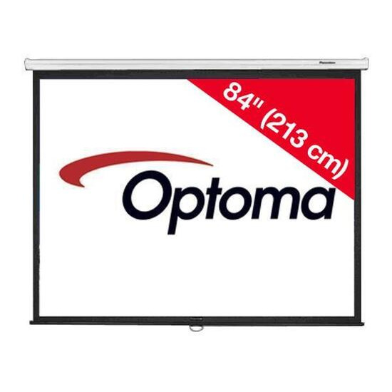 Optoma DS-3084PMG+ 84 inch Pull Down screen