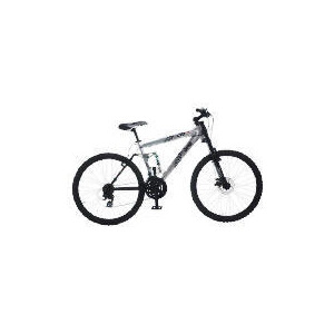 """Photo of Jeep Limited Edition 21SP Silver FT Disc Dual Suspension 26"""" Bike Bicycle"""