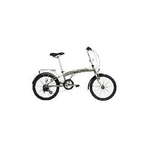 Photo of Lombardo Compact Alloy Folder 6-Speed Bicycle