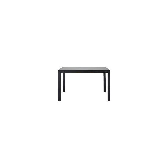Calida extending dining table, black