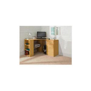 Photo of Fraser Corner Desk With Storage, Oak Effect Furniture