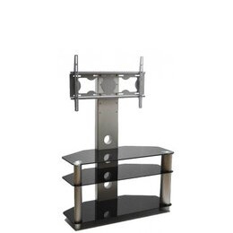 ValuFurniture Piano Black Universal TV Stand With Bracket for TVs up To 50 Reviews