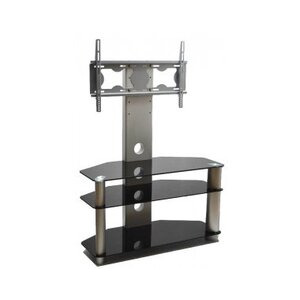 Photo of ValuFurniture Piano Black Universal TV Stand With Bracket For TVs Up To 50 TV Stands and Mount