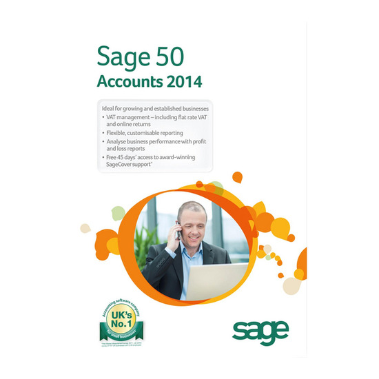 Sage 50 Accounts Professional 2014