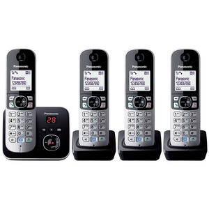 Photo of Panasonic KX-TG6824EB Landline Phone
