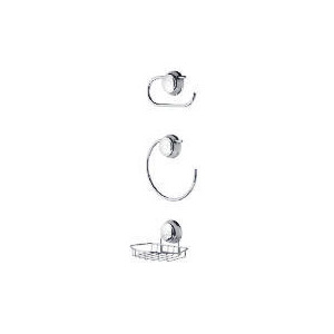 Photo of Twist & Lock 3 Piece Accessory Set Bathroom Fitting