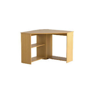 Photo of Fraser Corner Desk, Oak Effect Furniture