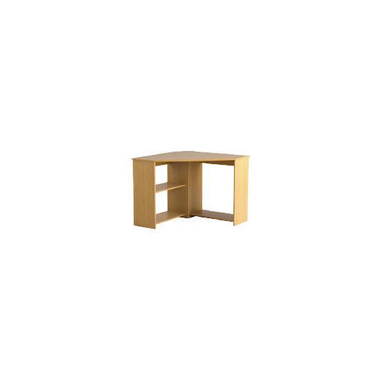 Fraser Corner Desk, Oak Effect