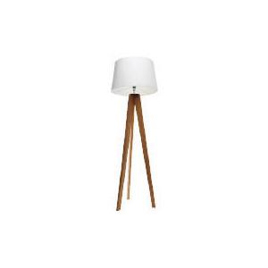 Photo of Tesco Tripod Wooden Floor Lamp Lighting