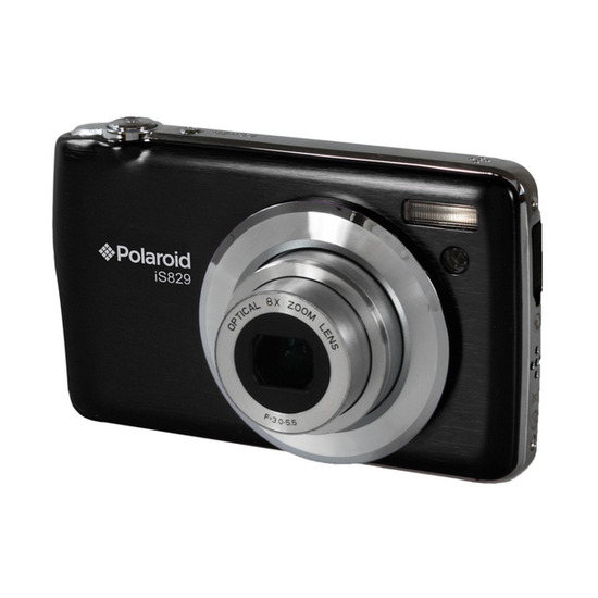 Polaroid IS829 Compact Digital Camera - White