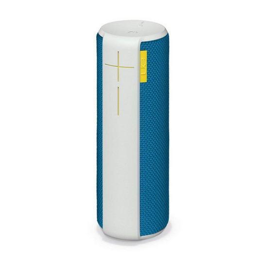 BOOM Portable Wireless Speaker - White & Blue