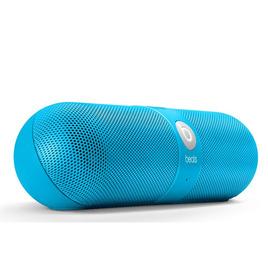 BEATS DR DRE Pill Wireless Portable Speaker - Neon Blue