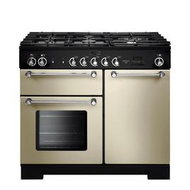 Rangemaster Kitchener 100 Dual Fuel Range Cooker - Cream & Chrome Reviews