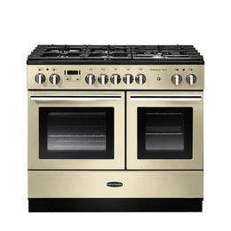 Rangemasterfessional+ FX 100 Dual Fuel Range Cooker - Cream & Chrome Reviews