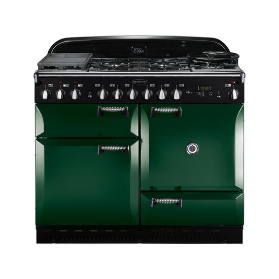 Rangemaster Elan 110 Dual Fuel Range Cooker - Green