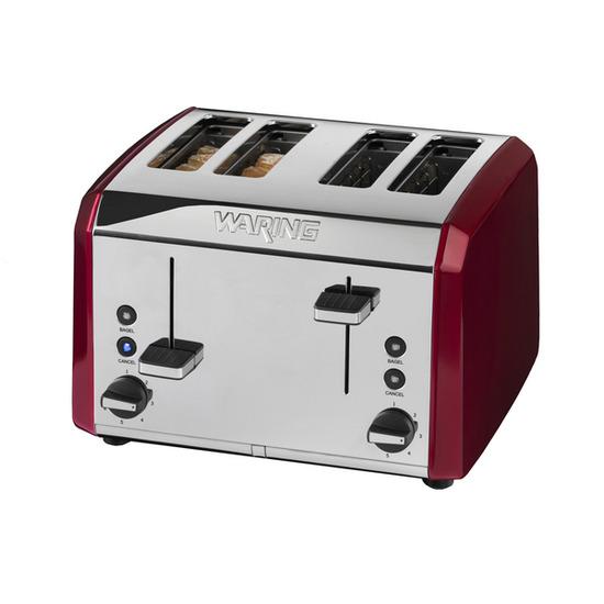 Waring WT400RU 4-Slice Toaster - Red