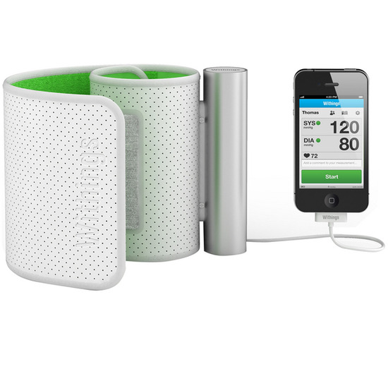 WITHINGS BP-800 Smart Blood Pressure Monitor - White