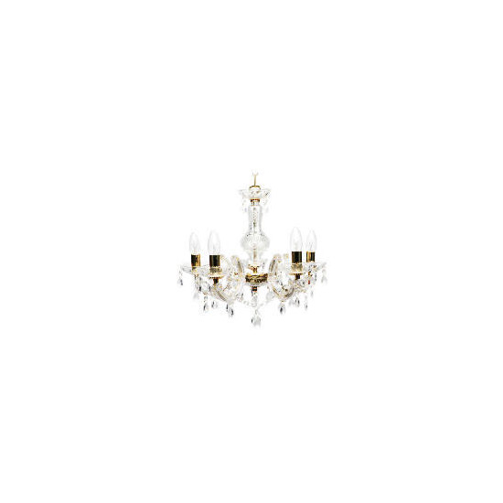 Marie Therese Five Light Ceiling Fitting
