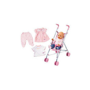 Photo of Baby Born Girl Stroller Set Toy
