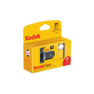 Photo of Kodak Flash Single Use 27 Photos Analogue Camera