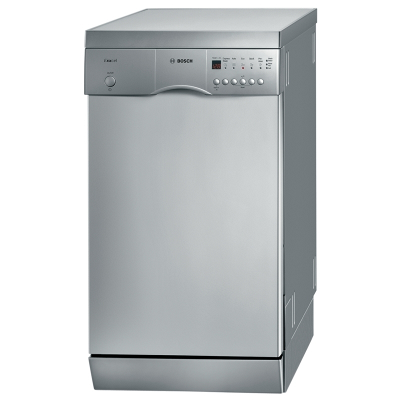bosch srs45e48gb dishwashers 45cm freestanding reviews and prices. Black Bedroom Furniture Sets. Home Design Ideas