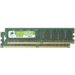 Photo of Corsair 2GB PC2-5300 DDR2 DIMM Memory Kit Computer Component