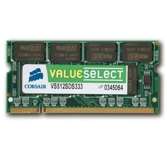 Corsair Value Select 512MB SODIMM