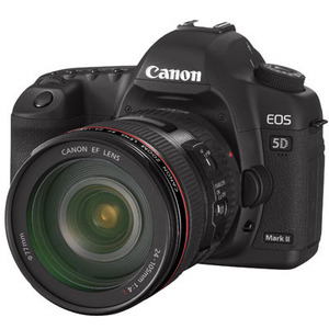 Photo of Canon EOS 5D Mark II With 24-105MM Lens Digital Camera