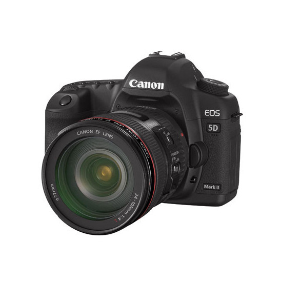 Canon EOS 5D Mark II with 24-105mm lens