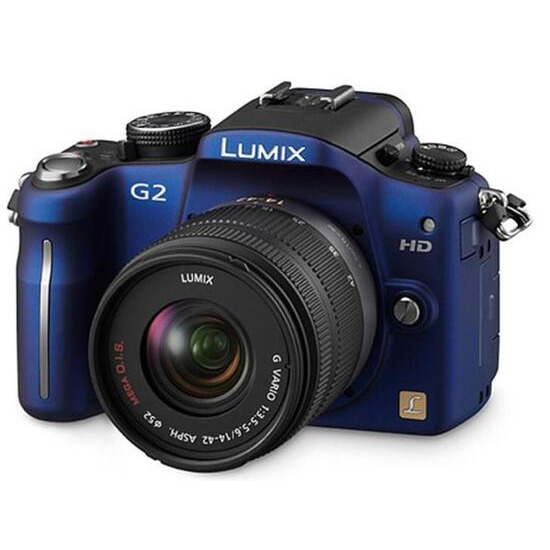 Panasonic Lumix DMC-G2 with 14-42mm lens