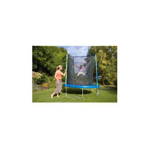 Photo of Tesco 8FT Trampoline With Safety Enclosure Toy