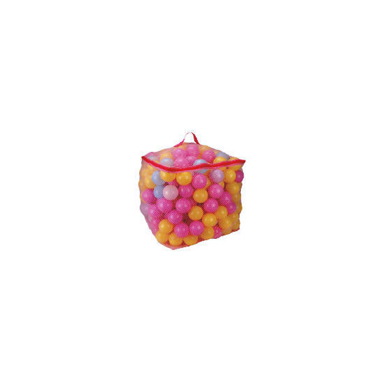 Tesco 300 Playballs Pink