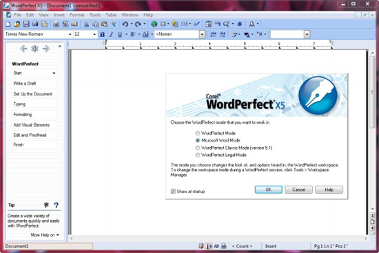 corel wordperfect x5