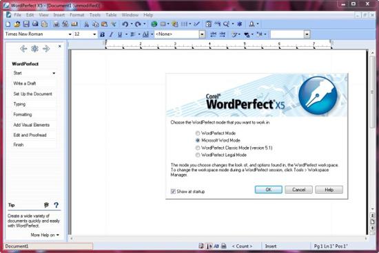 corel wordperfect office x5