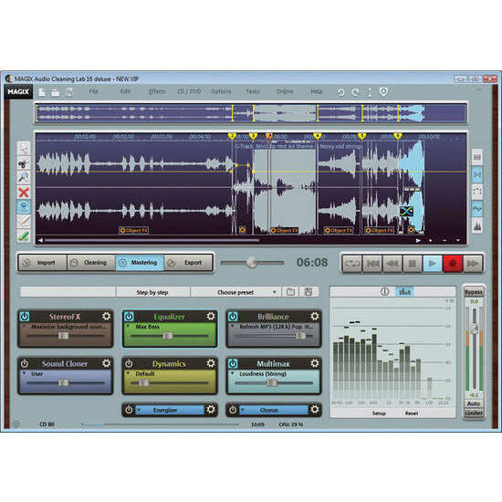 Magix Audio Cleaning Lab 16 deluxe