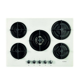 SANDSTROM S5GONGW13 Gas Hob - White Reviews